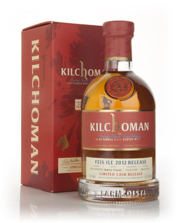 Kilchoman Feis Ile 2012 - Limited Cask Release Single Malt Whisky