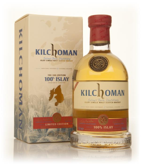 Kilchoman 100% Islay - 3rd Edition Single Malt Whisky