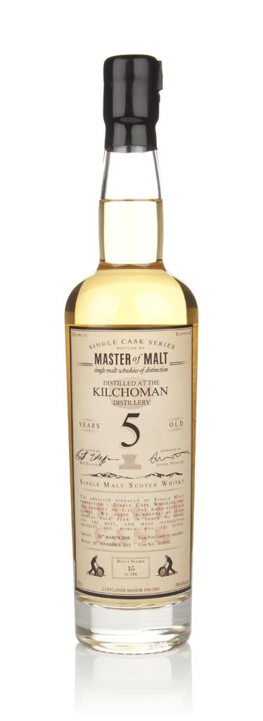 Kilchoman 5 Year Old 2008 - Single Cask (Master of Malt) Single Malt Whisky