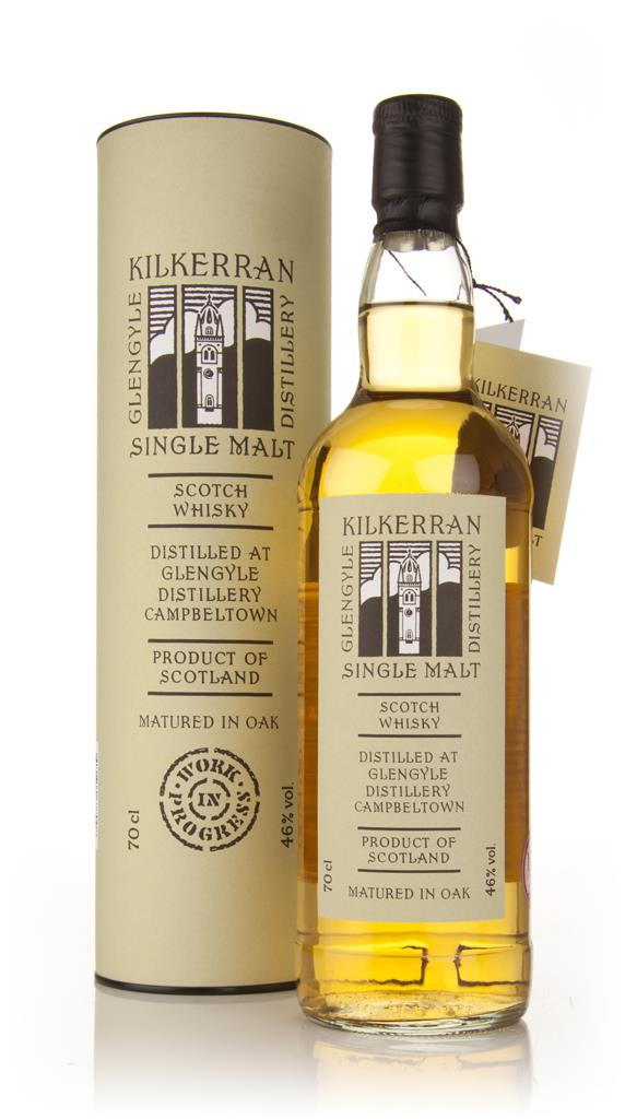 Kilkerran Work In Progress 3rd Release Single Malt Whisky