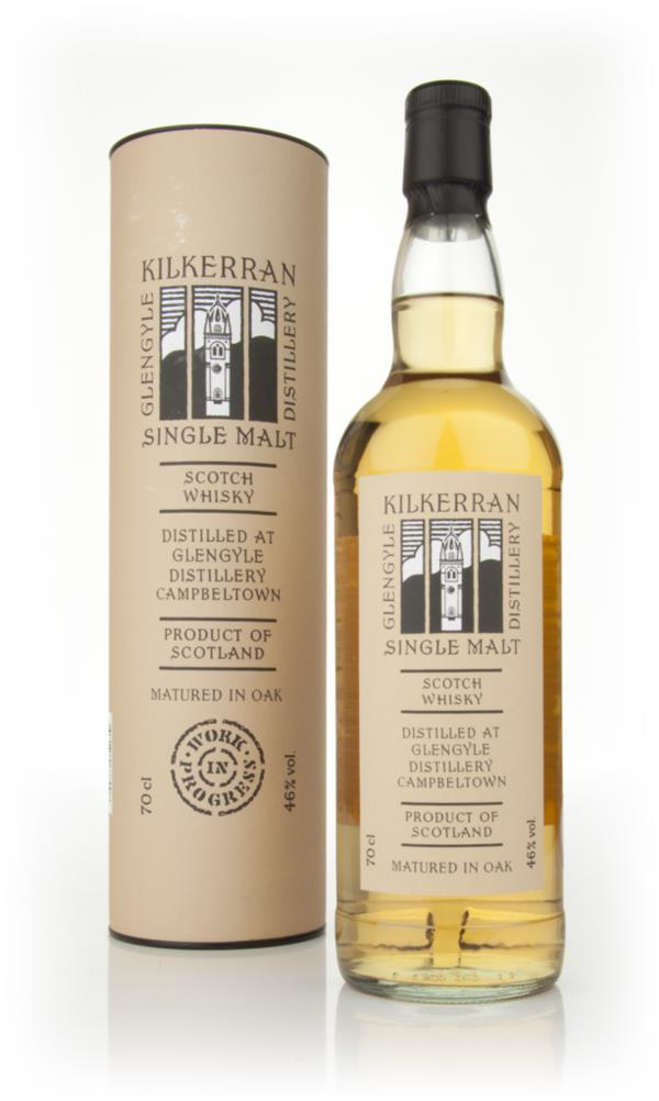 Kilkerran Work In Progress 4th Release Single Malt Whisky
