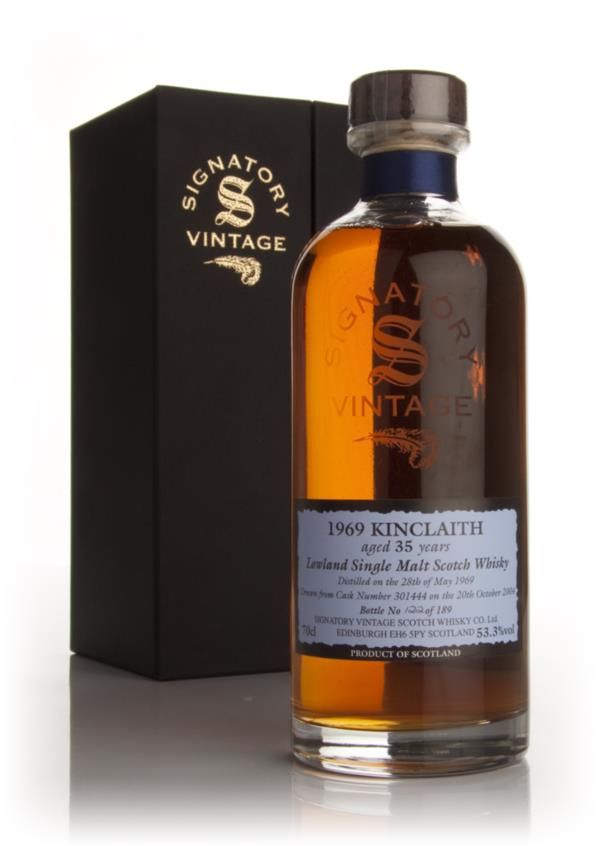 Kinclaith 35 Year Old 1969 (Signatory) Single Malt Whisky