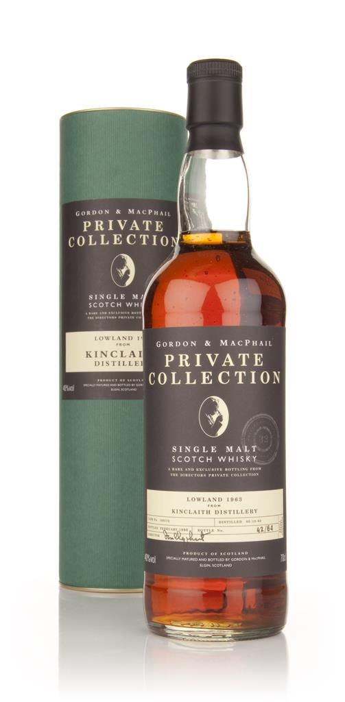 Kinclaith 32 Year Old 1963 - Private Collection (Gordon and MacPhail) Single Malt Whisky