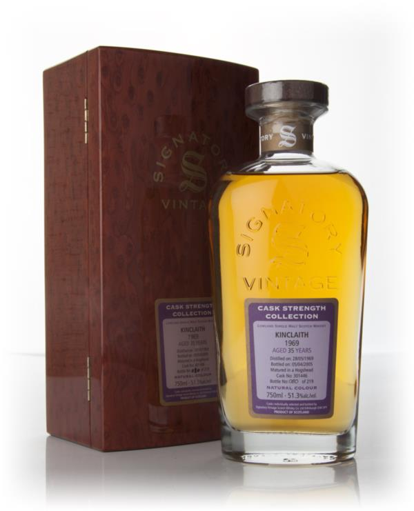 Kinclaith 35 Year Old 1969 - Rare And Very Old - Cask Strength Decante Single Malt Whisky