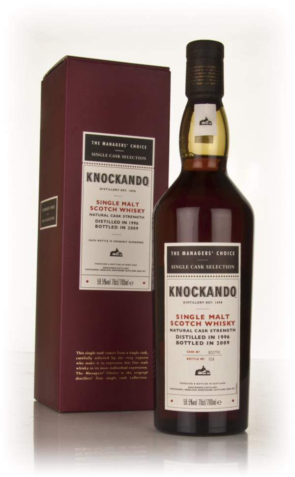 Knockando 1996 - Managers Choice Single Malt Whisky
