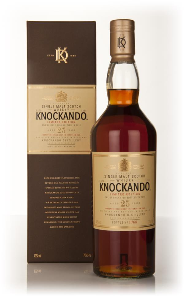 Knockando 25 Year Old (2011 Release) Single Malt Whisky