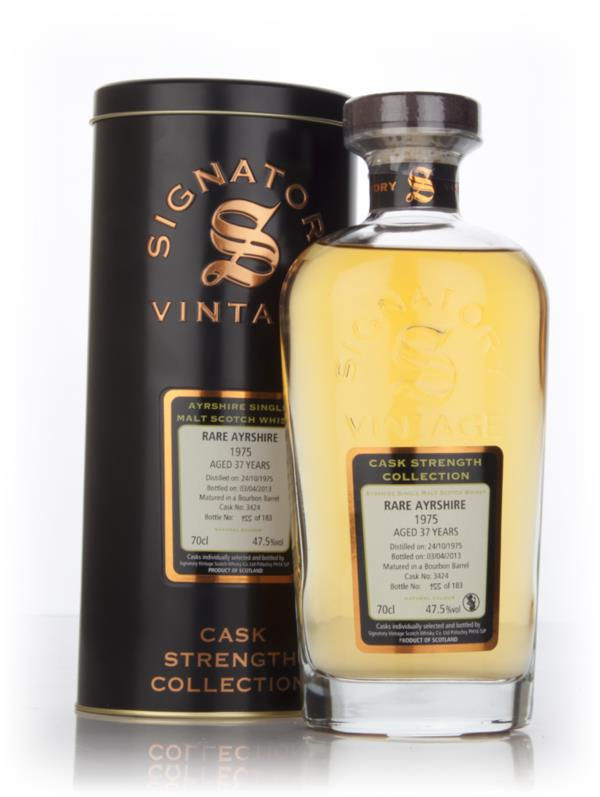 Rare Ayrshire 37 Year Old 1975 (cask 3424) - Cask Strength Collection Single Malt Whisky