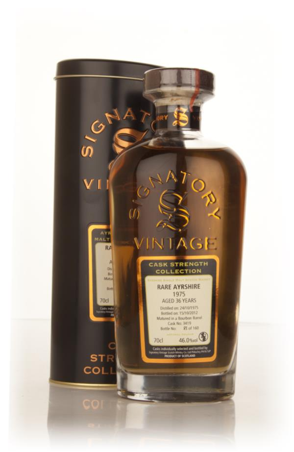 Rare Ayrshire (Ladyburn) 36 Year Old 1975 (cask 3419) - Cask Strength Single Malt Whisky
