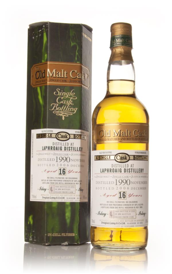 Laphroaig 16 Year Old 1990 - Old Malt Cask (Douglas Laing) Single Malt Whisky