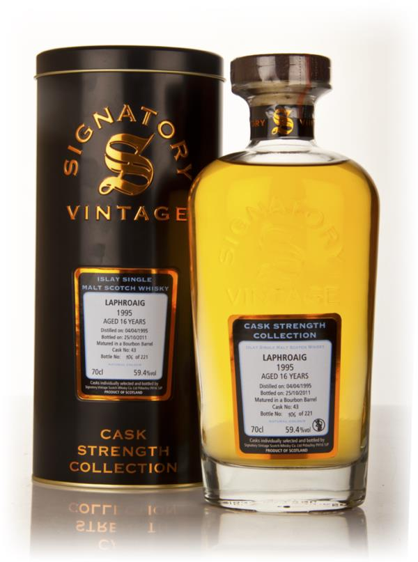 Laphroaig 16 Year Old 1995 Cask 43 - Cask Strength Collection (Signato Single Malt