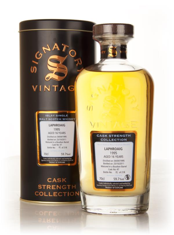 Laphroaig 16 Year Old 1995 Cask 47 - Cask Strength Collection (Signato Single Malt Whisky
