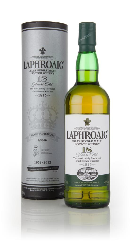 Laphroaig 18 Year Old - Jubilee Edition Single Malt Whisky