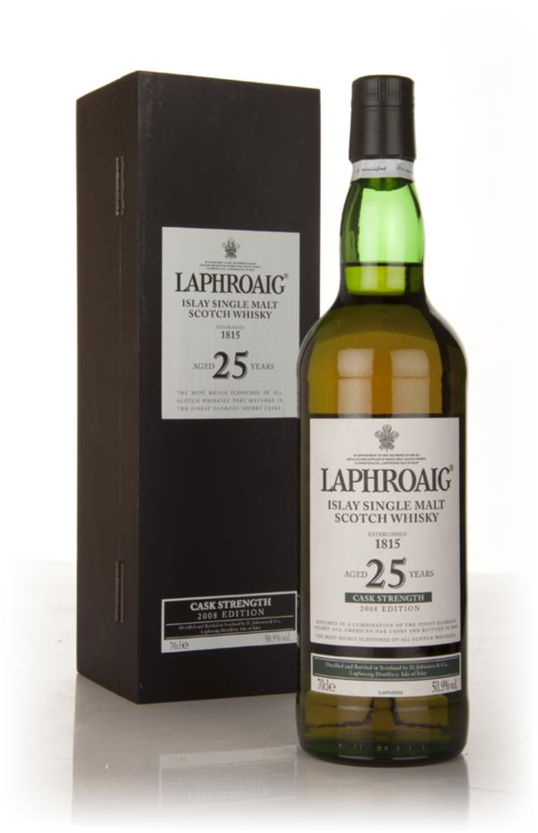 Laphroaig 25 Year Old Cask Strength Single Malt Whisky