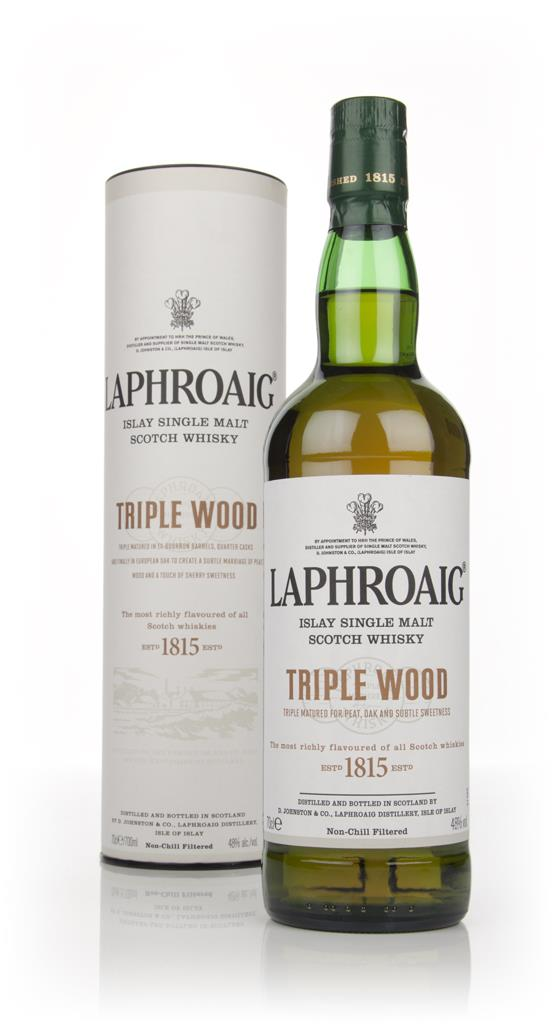 Laphroaig Triple Single Malt Wood