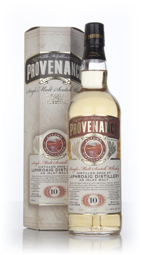 Laphroaig 10 Year Old 2002 (cask 9656) - Provenance (Douglas Laing) Single Malt Whisky