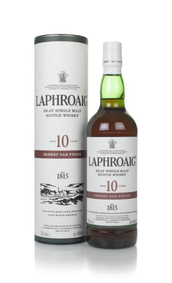 Laphroaig 10 Year Old Sherry Oak Finish Single Malt Whisky