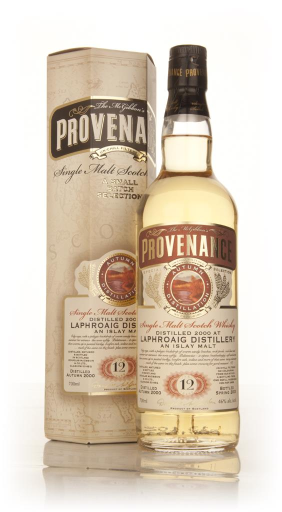 Laphroaig 12 Year Old 2000 (cask 9656) - Provenance (Douglas Laing) Single Malt Whisky