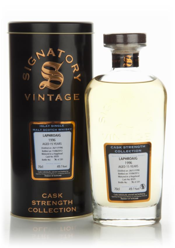 Laphroaig 15 Year Old 1996 - Signatory Single Malt Whisky