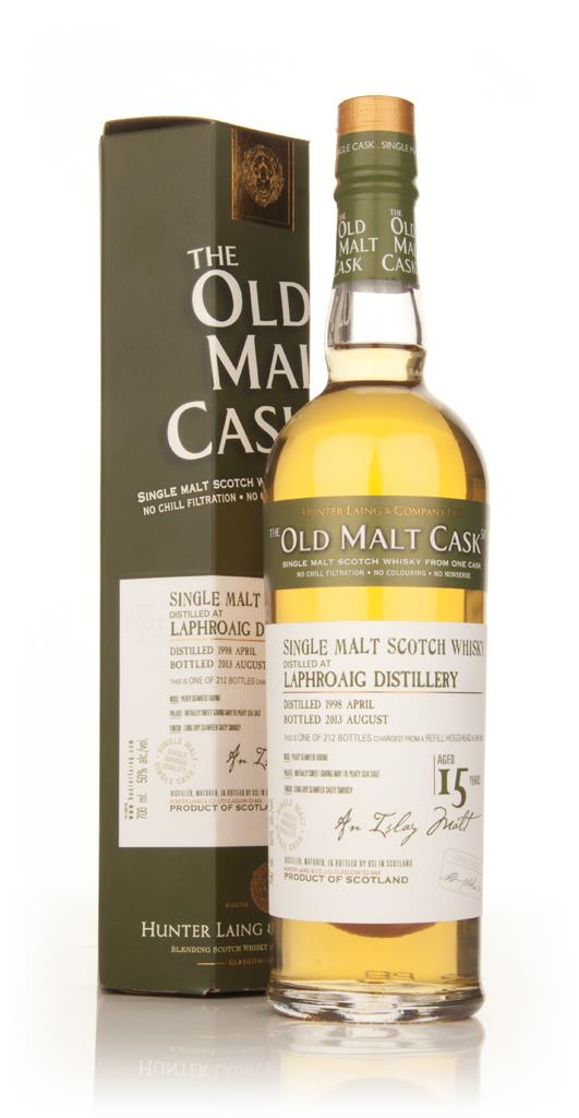 Laphroaig 15 Year Old 1998 (cask 9932) - Old Malt Cask (Hunter Laing) Single Malt Whisky