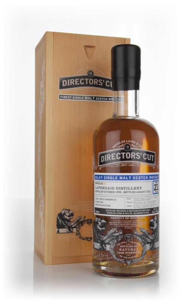 Laphroaig 21 Year Old 1990 (cask 8905) - Directors Cut (Douglas Laing Single Malt Whisky