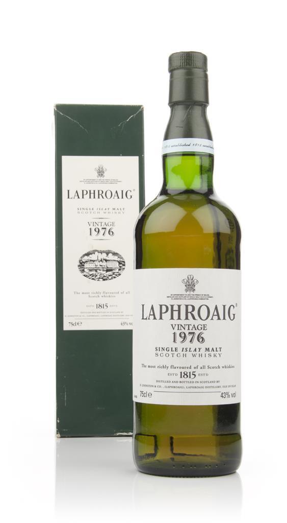 Laphroaig Vintage 1976 Single Malt Whisky