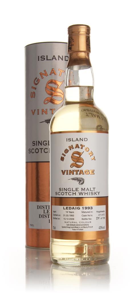 Ledaig 17 Year Old 1993 (Signatory) Single Malt Whisky