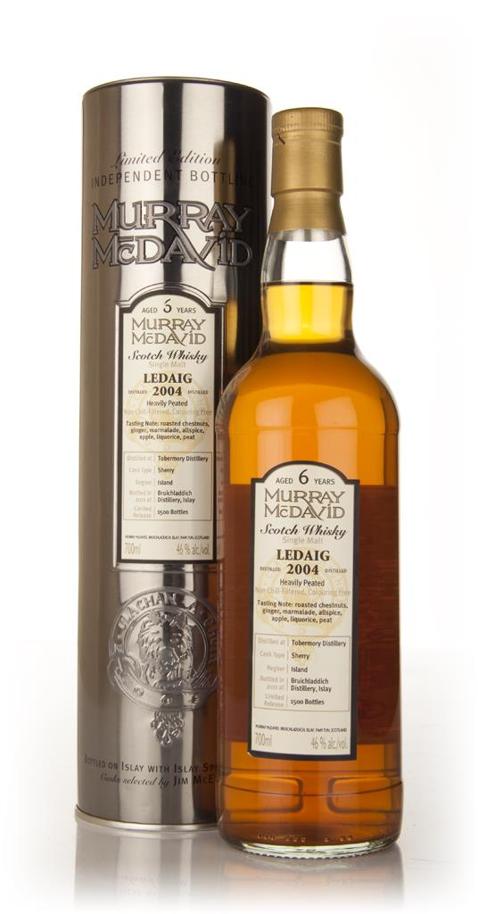 Ledaig 6 Year Old 2004 (Murray McDavid) Single Malt Whisky