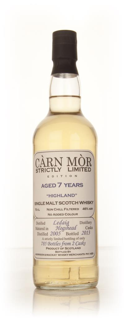 Ledaig 7 Year Old 2005 - Strictly Limited (Carn Mor) Single Malt Whisky