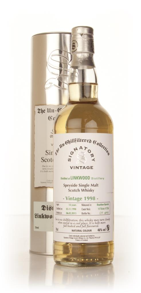 Linkwood 14 Year Old 1998 (casks 11756-11758) - Un-Chillfiltered (Sign Single Malt Whisky