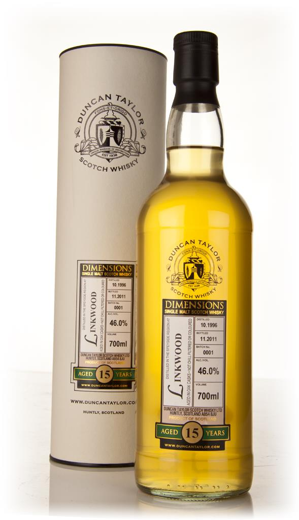 Linkwood 15 Year Old 1996 - Dimensions (Duncan Taylor) Single Malt Whisky