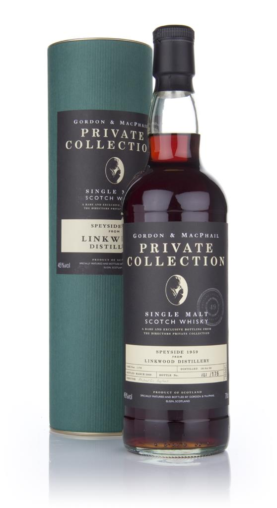 Linkwood 1959 - Private Collection (Gordon and MacPhail) Single Malt Whisky
