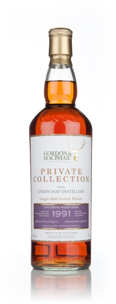 Linkwood 1991 Cote Rotie - Private Collection (Gordon and MacPhail) Single Malt Whisky