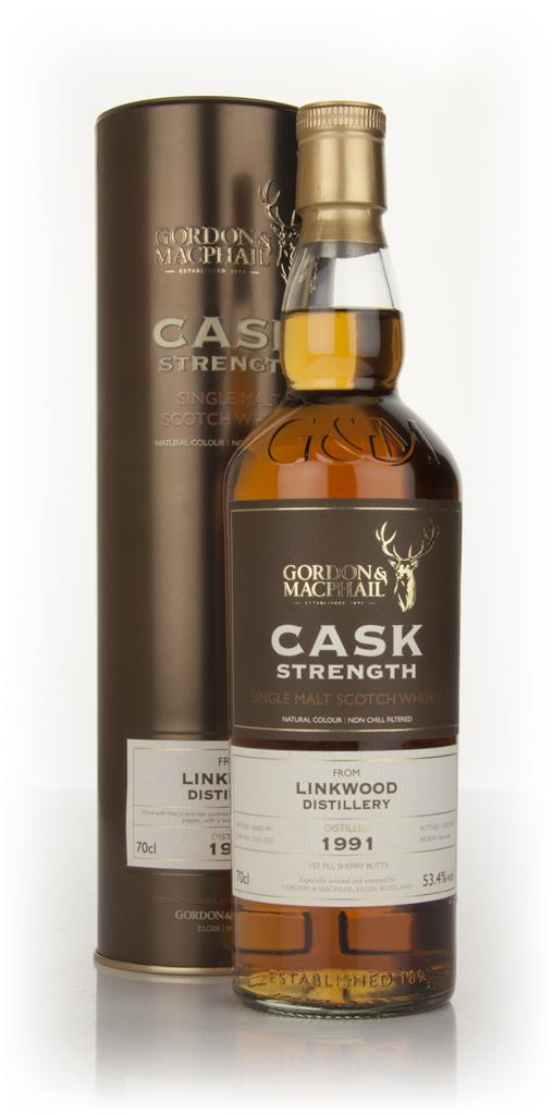 Linkwood 1991 Cask Strength (Gordon & MacPhail) 53.4% Single Malt Whisky