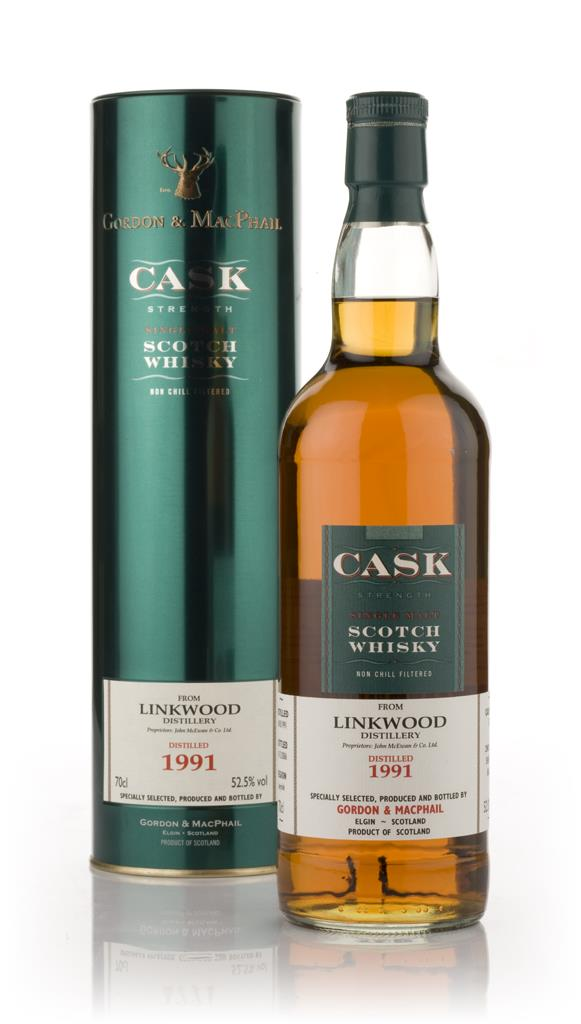 Linkwood 1991 - Cask Strength (Gordon and MacPhail) Single Malt Whisky