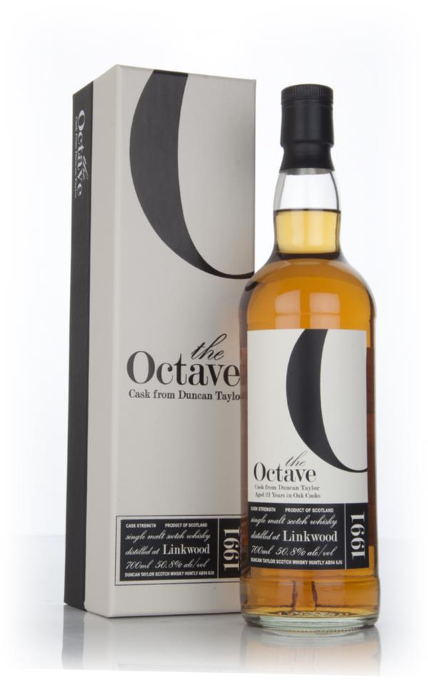 Linkwood 21 Year Old 1991 (cask 762990) - The Octave (Duncan Taylor) Single Malt Whisky