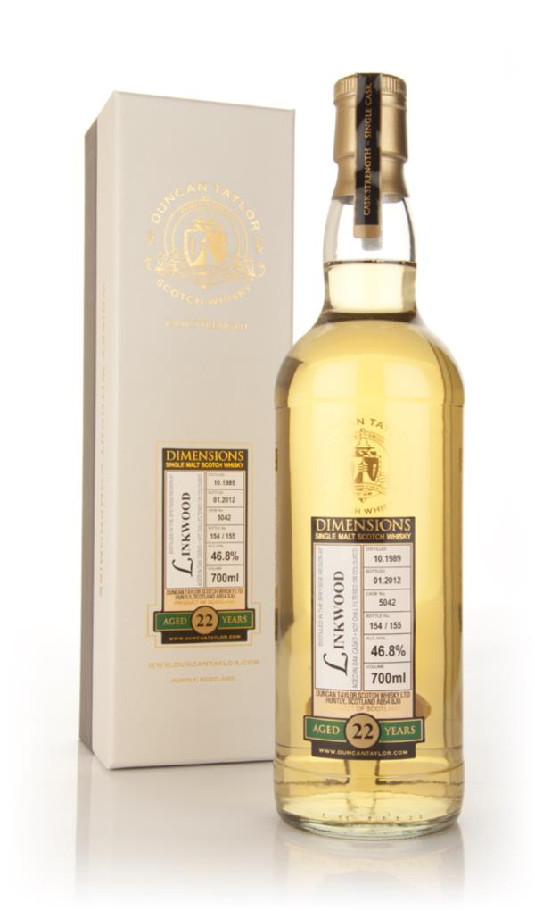 Linkwood 22 Year Old 1989 Cask 5042 - Rare Auld (Duncan Taylor) Single Malt Whisky