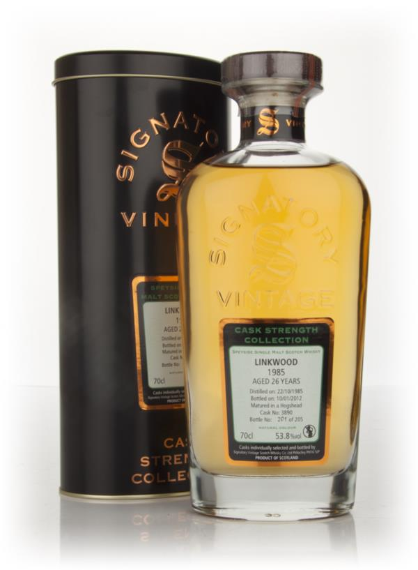 Linkwood 26 Year Old 1985 - Cask Strength Collection (Signatory) Single Malt Whisky