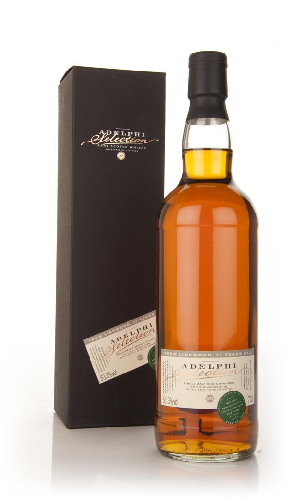 Linkwood 27 Year Old 1984 (Adelphi) Single Malt Whisky
