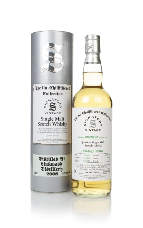 Linkwood 13 Year Old 2008 (cask 803636) - Un-Chillfiltered Collection Single Malt Whisky