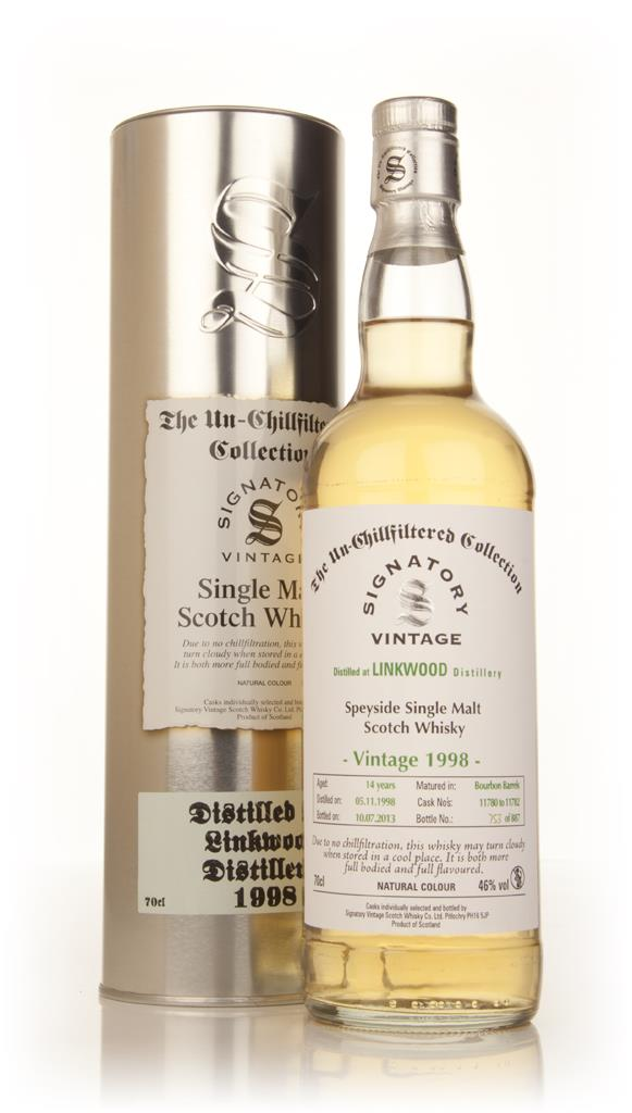 Linkwood 14 Year Old 1998 (casks 11780-11782) - Un-Chillfiltered Colle Single Malt Whisky