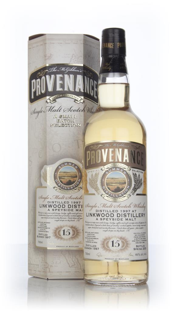 Linkwood 15 Year Old 1997 (cask 9661) - Provenance (Douglas Laing) Single Malt Whisky
