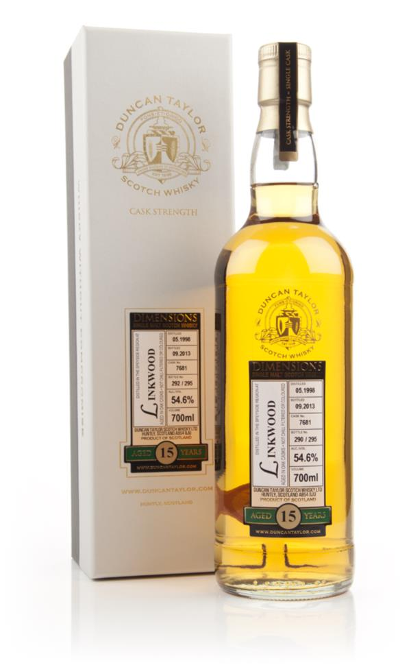 Linkwood 15 Year Old 1998 (cask 7681) - Dimensions (Duncan Taylor) Single Malt Whisky