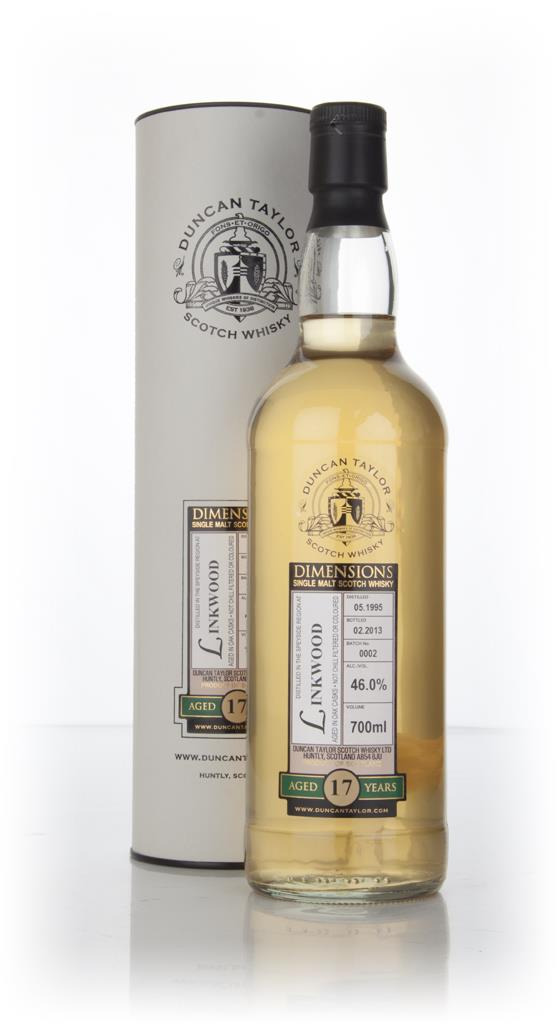 Linkwood 17 Year Old 1995 - Batch 0002 - Dimensions (Duncan Taylor) Single Malt Whisky