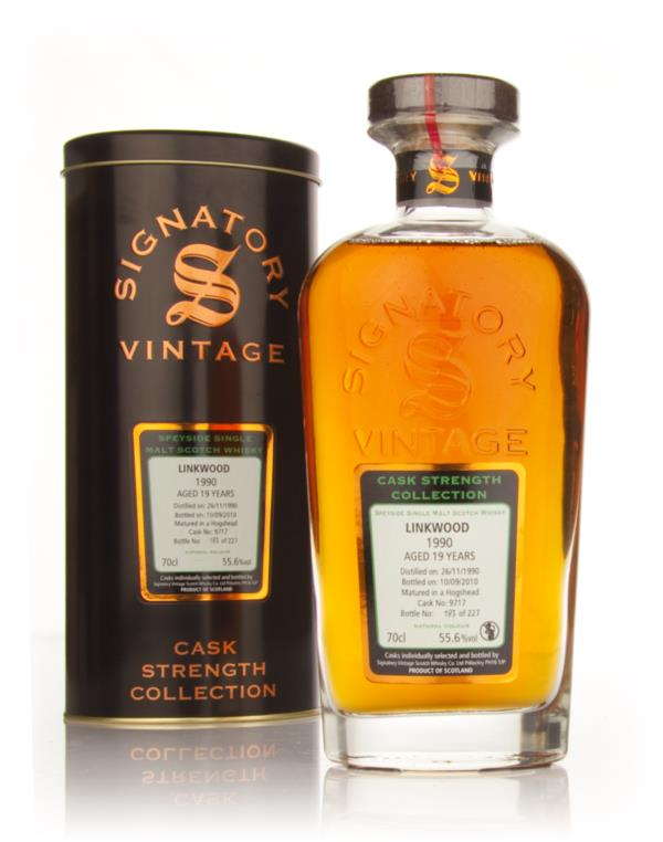 Linkwood 19 Year Old 1990 - Cask Strength Collection (Signatory) Single Malt Whisky