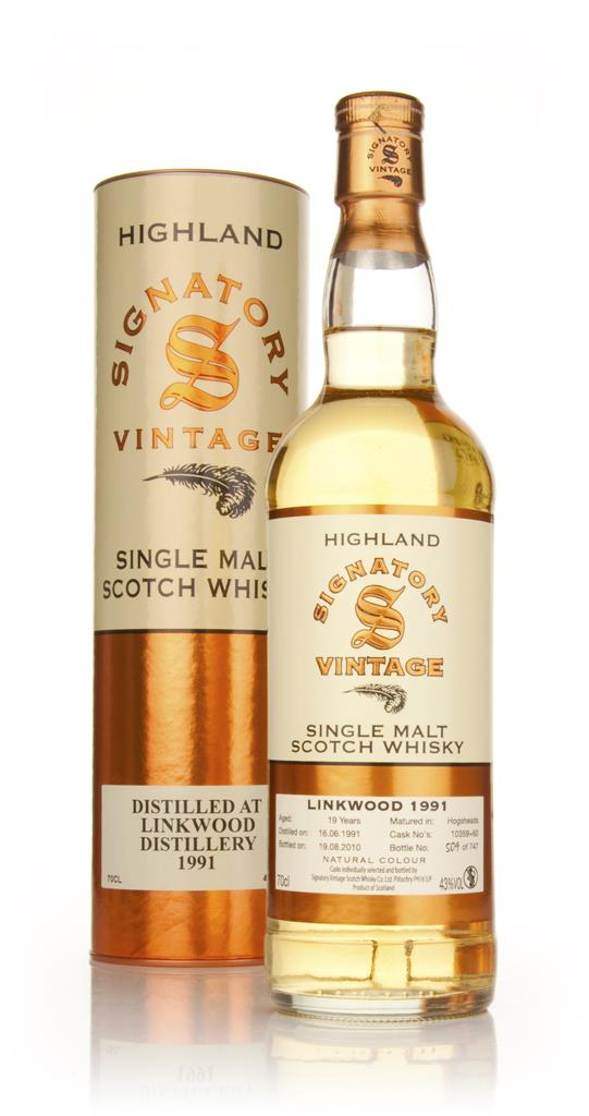 Linkwood 19 Year Old 1991 (Signatory) Single Malt Whisky