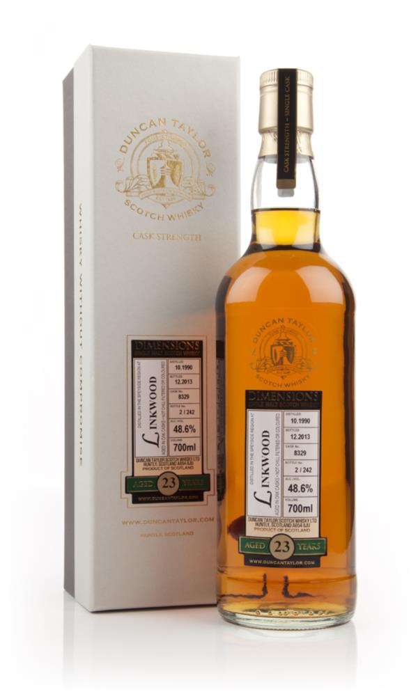 Linkwood 23 Year Old 1990 (cask 8329) - Dimensions (Duncan Taylor) Single Malt Whisky