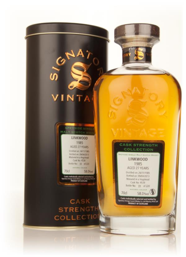 Linkwood 27 Year Old 1985 (cask 4539) - Cask Strength Collection (Sign Single Malt Whisky