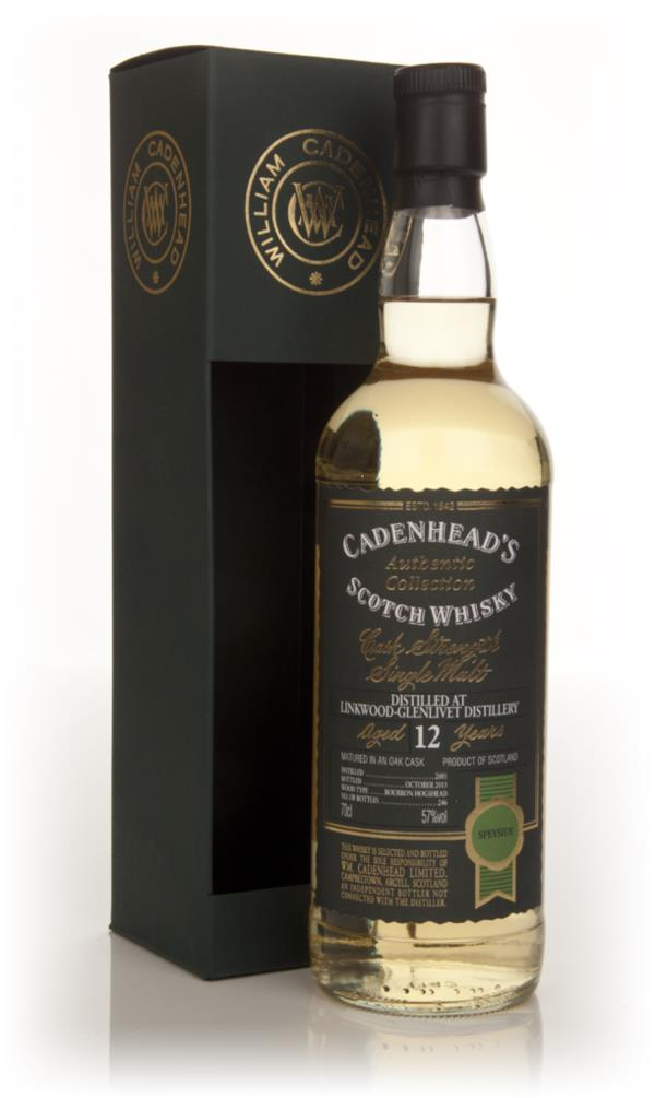 Linkwood-Glenlivet 12 Year Old 2001 - Authentic Collection (WM Cadenhe Single Malt Whisky