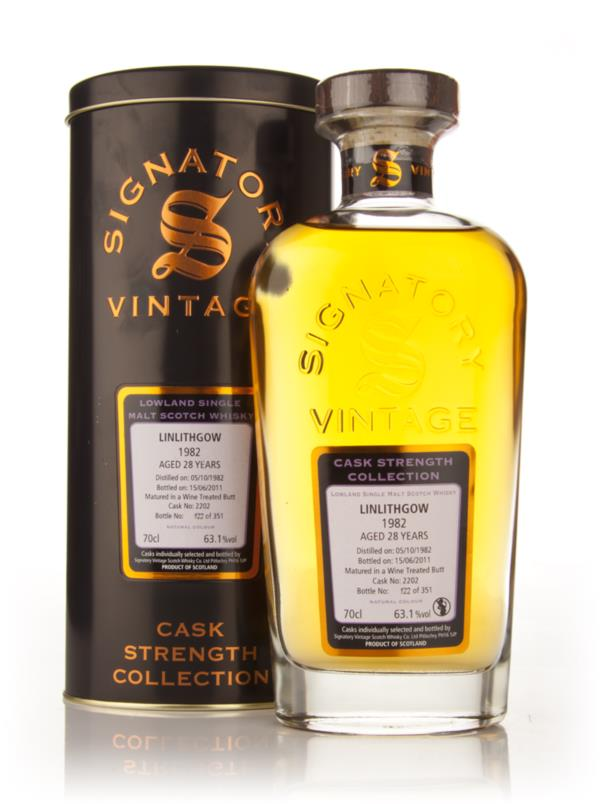 Linlithgow 28 Year Old 1982 Cask 2202 - Cask Strength Collection (Sign Single Malt Whisky