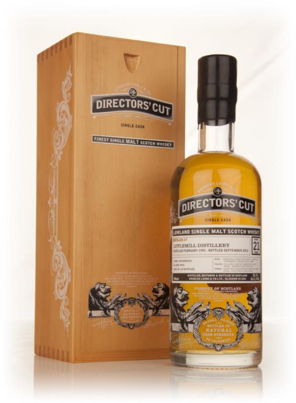 Littlemill 21 Year Old 1992 (cask 9970) - Directors Cut (Douglas Lain Single Malt Whisky